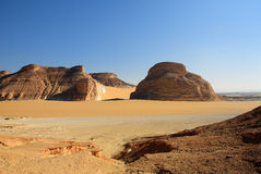 Sahara, Akabat, Egipt Zdjęcie Royalty Free