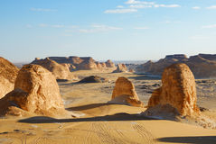 Sahara, Akabat, Egipt Obrazy Royalty Free