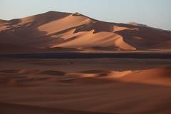 The Sahara in Algeria. The desert sahara in algeria Stock Image