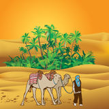 Sahara desert Royalty Free Stock Photography