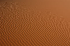 Sahara Desert. The sand dunes of Erg Chebbi in the Sahara Desert near Merzouga, Morocco stock image