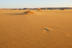 The Sahara desert Stock Image