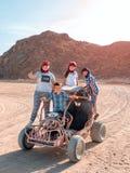 Sahara desert - active leisure and travel to Egypt royalty free stock photo