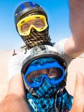 Sahara desert - active leisure and travel to Egypt royalty free stock photography