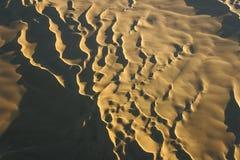 Sahara desert, aerial view Royalty Free Stock Photo