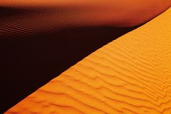Sahara Desert, Algeria Stock Photo