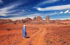Sahara Desert, Algeria Stock Photos