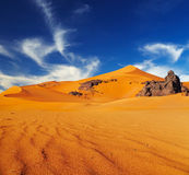 Sahara Desert, Algeria Royalty Free Stock Photos