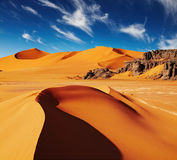Sahara Desert, Algeria Royalty Free Stock Photography