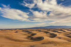 Sahara desert. Royalty Free Stock Photo