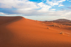 Sahara - Desert Dunes Royalty Free Stock Photography