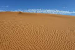 Sahara desert - Erg Chebbi. Erg Chebii is a part of Sahara. Desert is in Morocco near to Merzouga Royalty Free Stock Photography