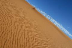 Sahara desert - Erg Chebbi. Erg Chebii is a part of Sahara. Desert is in Morocco near to Merzouga Stock Photos