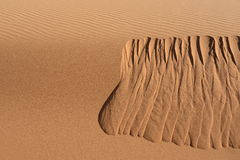 Sahara desert - Erg Chebbi. Erg Chebii is a part of Sahara. Desert is in Morocco near to Merzouga Royalty Free Stock Image