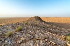 Sahara Desert et ciel bleu photos stock