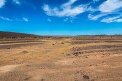 Sahara desert landscape Stock Photo
