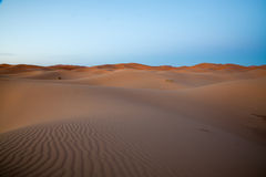 Sahara Desert, Merzouga, Marocco Stock Photo