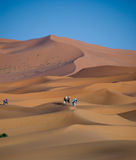 Sahara desert in Morocco Royalty Free Stock Photography