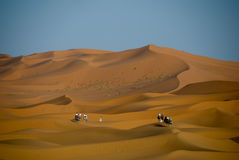 Sahara desert in Morocco Royalty Free Stock Image