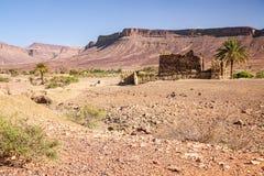 Sahara desert and the mountain Stock Photos