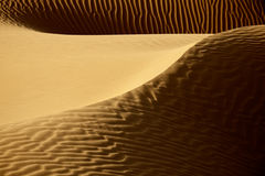 Sahara desert sand dunes. Picture of sand dunes in the Sahara desert of Morocco Stock Images