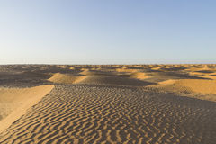 Sahara desert sand dunes Stock Photo