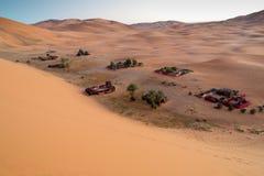 Sahara desert sand. The sand of the Sahara desert in Morocco, Merzouga Royalty Free Stock Photography