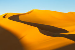 Sahara Desert Sunset Royalty Free Stock Image