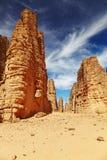 Sahara Desert, Tassili N'Ajjer, Algeria Royalty Free Stock Image