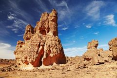 Sahara Desert, Tassili N'Ajjer, Algeria Stock Photo