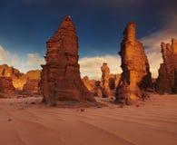 Sahara Desert, Tassili N'Ajjer, Algeria Royalty Free Stock Photo
