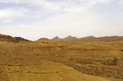 Sahara desert, Tunisia. Beautiful view of Sahara desert in Tunisia Stock Photo