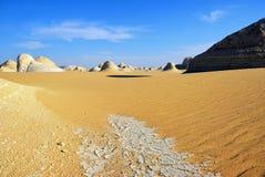 Sahara, Egipt, Afryka Obrazy Royalty Free