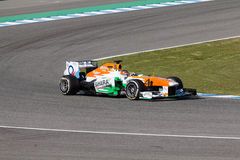 Sahara Force India F1 Team - Jules Bianchi - 2013 Stock Photography
