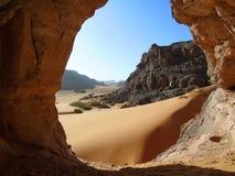 Sahara- grotta arkivbilder