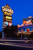 Sahara Hotel-Casino On The Las Vegas Strip Royalty Free Stock Photo