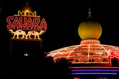 Sahara Hotel and Casino royalty free stock photos