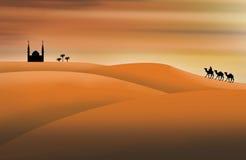 Sahara illustration Stock Image