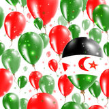Sahara Independence Day Seamless Pattern occidentale Photographie stock