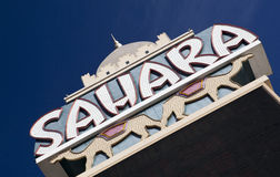 Sahara, Las Vegas Stock Photography