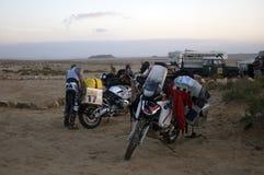 sahara obozowy pustynny western Obrazy Stock