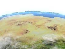 Sahara on planet Earth Royalty Free Stock Photo