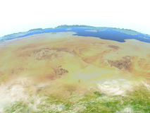 Sahara on planet Earth Stock Photos