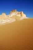 sahara pustynny biel Obrazy Royalty Free
