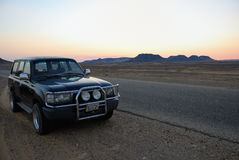 Sahara safari, Egypt Stock Image