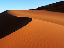Sahara Sand Dune Royalty Free Stock Photo