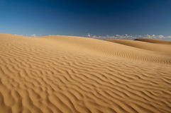 Sahara sand pattern Stock Image