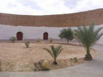 Sahara - Tunesien lizenzfreie stockfotos