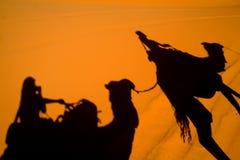 Sahara-Wüste lizenzfreies stockbild