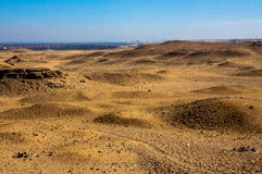 Sahara Wüste Lizenzfreie Stockfotos
